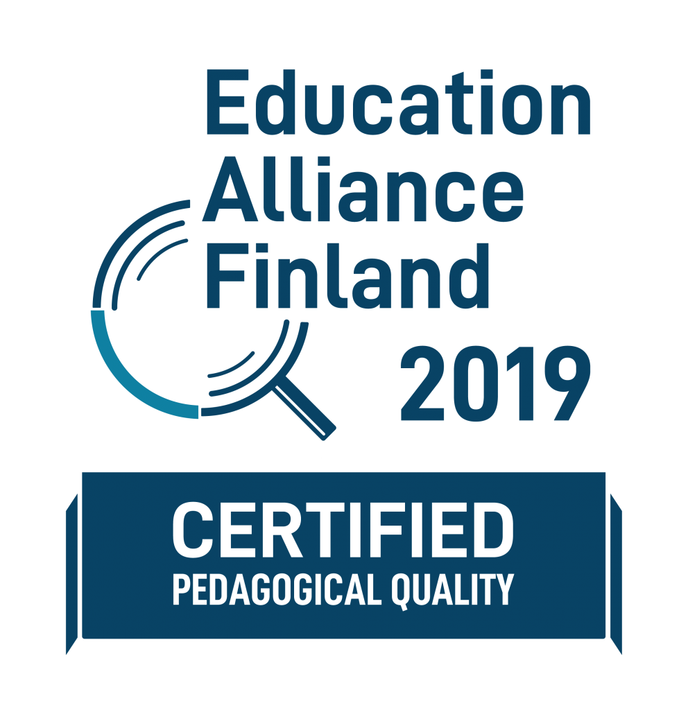 Education Alliance Finland - Finnish Quality Certificate